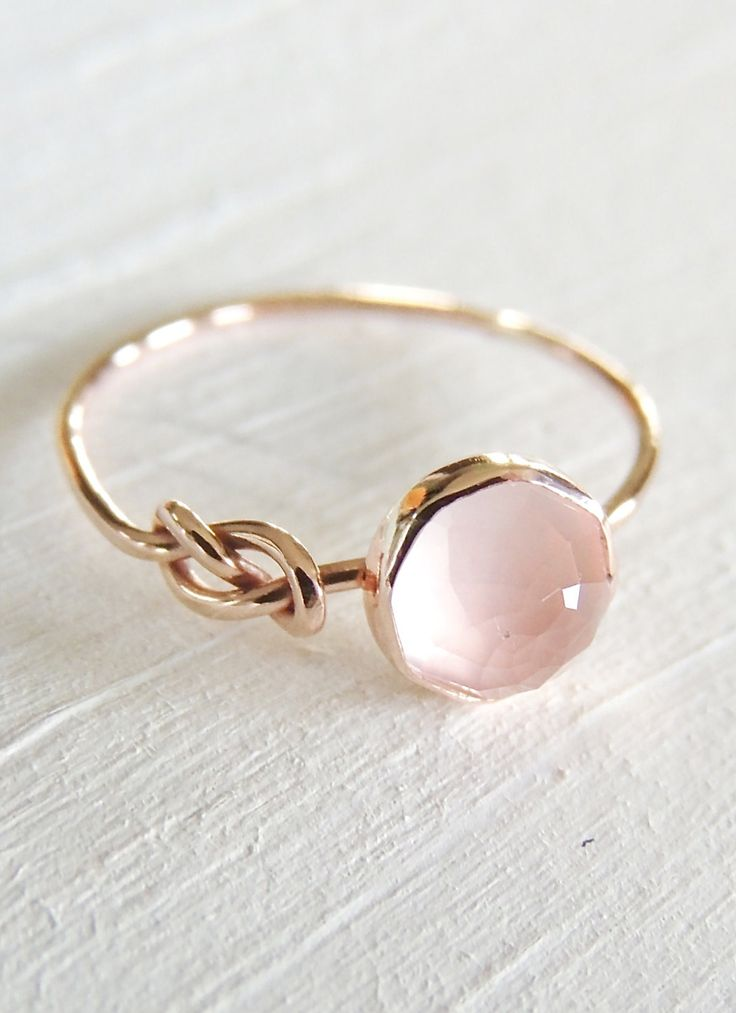 25 Best Ideas About Rose Quartz Ring On Pinterest