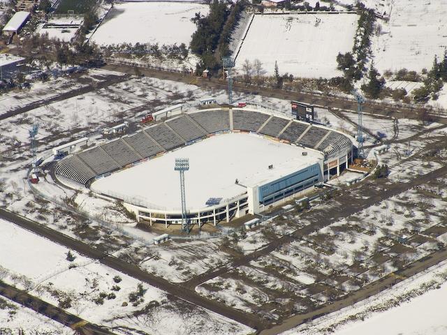 Estadio San Carlos de Apoquindo, Nevado