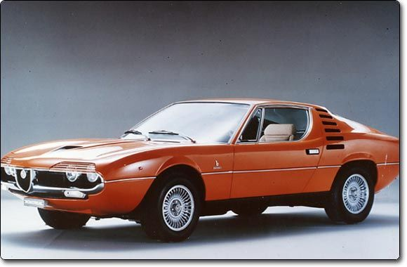 the Alfa Romeo Montreal...