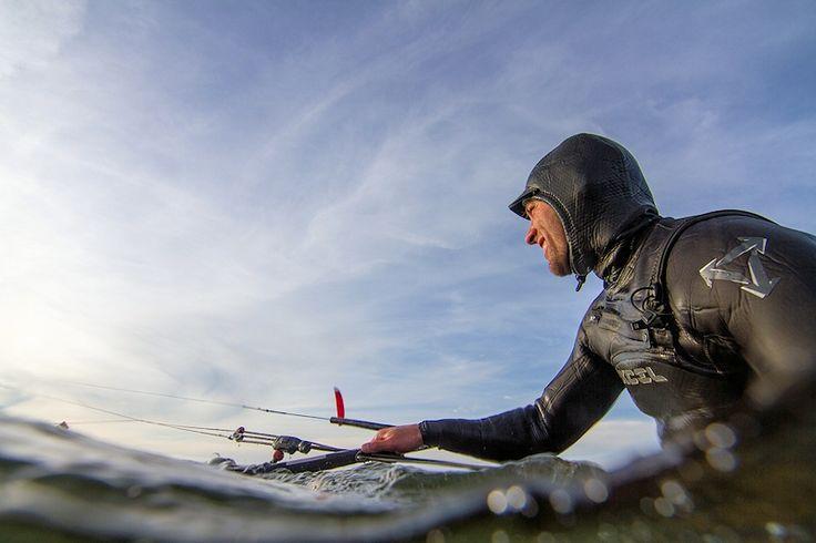 Der ferienwohnungen.de Kitesurfer. Kitesurf, kitesurfing, kite, Nordsee, Ostsee