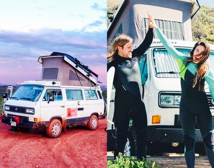Living the modern nomad van life with WheresMyOfficeNow is a look into their lives on the road. What they have discovered is the true meaning of wealth.