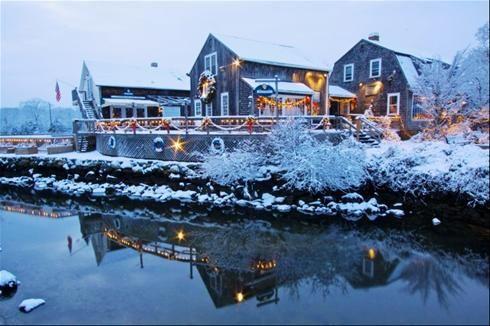 Wickford in the Winter       #VisitRhodeIsland