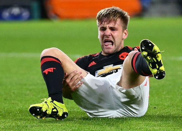 Luke Shaw has now started training outside, after he broke his leg back in the fall in a Champions League match against PSv Luke Shaw broke his leg early in