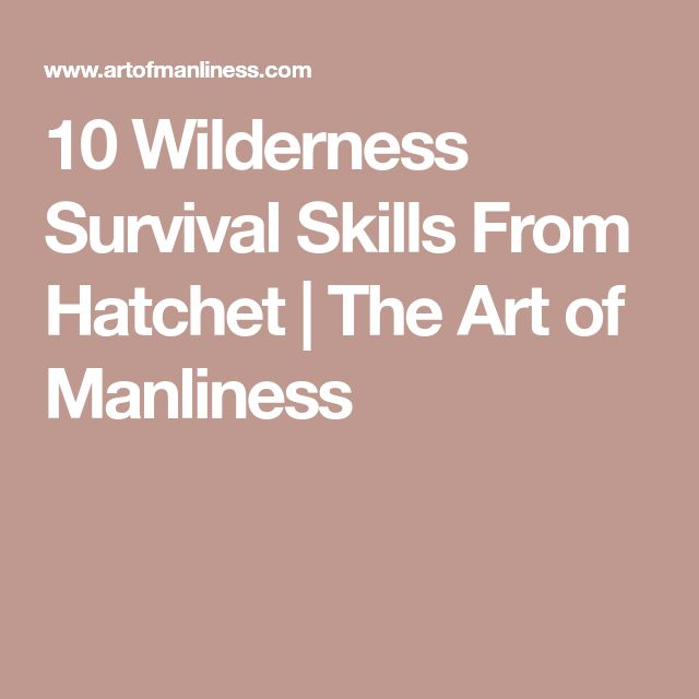 20 best hatchet images on pinterest hatchet book bedding and the 10 wilderness survival skills from hatchet fandeluxe Image collections