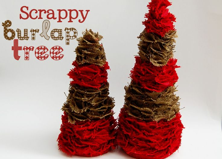 Burlap Christmas Craft Ideas Part - 47: 325 Best Crafts With Burlap Images On Pinterest | Hessian Fabric, Burlap  Projects And Christmas Ideas