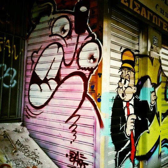 Psyrri, Athens.