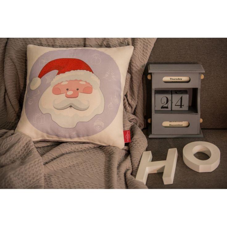 Santa Calus Pillow #pillow #santa #christmas #present #interiordesign #homedeco #joy #charity #donation