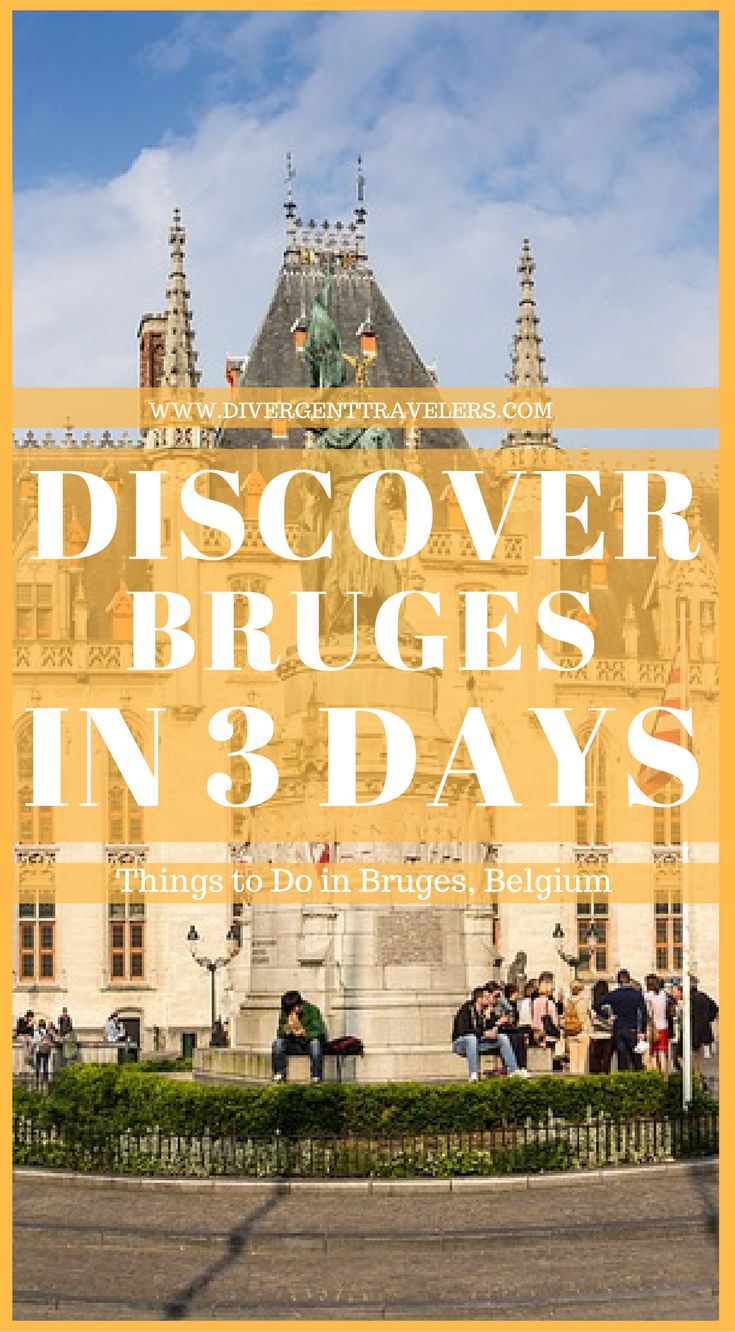 3 Day Bruges City Break Guide – Things to do in Bruges. City guide showcasing some of the best things to do inBruges, Belgium including the Belfry, a canal tour, and chip shops where you can eat fries with mayo! ... While the city can easily be explored in a weekend – 2-3 dayshere is great – there are still plenty of things to do inBrugesduring your visit. Click to read  3 Day Bruges City Break Guide – Things to do in Bruges #Bruges #Guide #Travel #Belgium