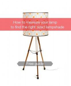 I like that lamp: DIY Lampshade Kits