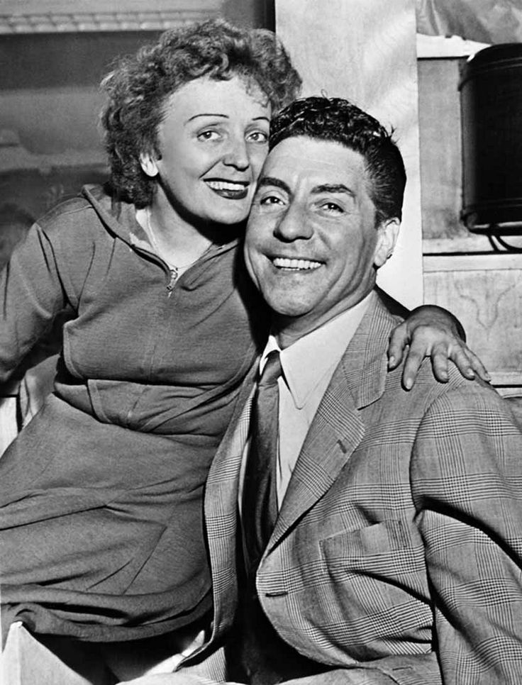 Edith Piaf and Marcel Cerdan, 1949