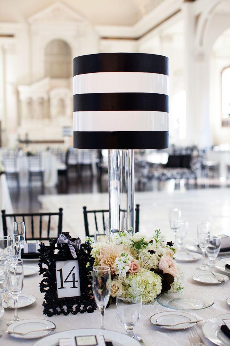 25+ best Black and white inspired wedding images on Pinterest ...