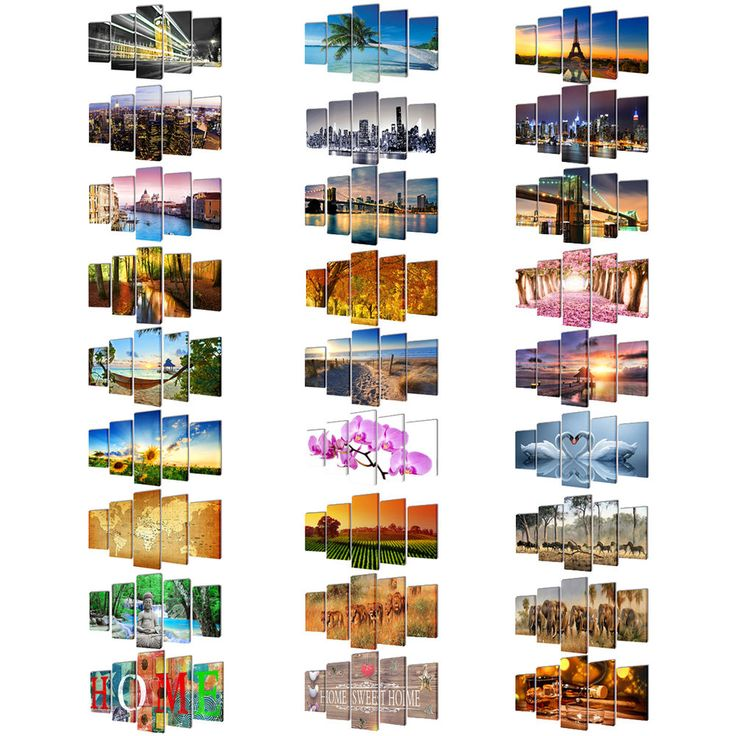 """Modern Canvas Home Wall Decor Art Painting Picture Print Framed World Map 79"""" #vidaXL #Modernism"""