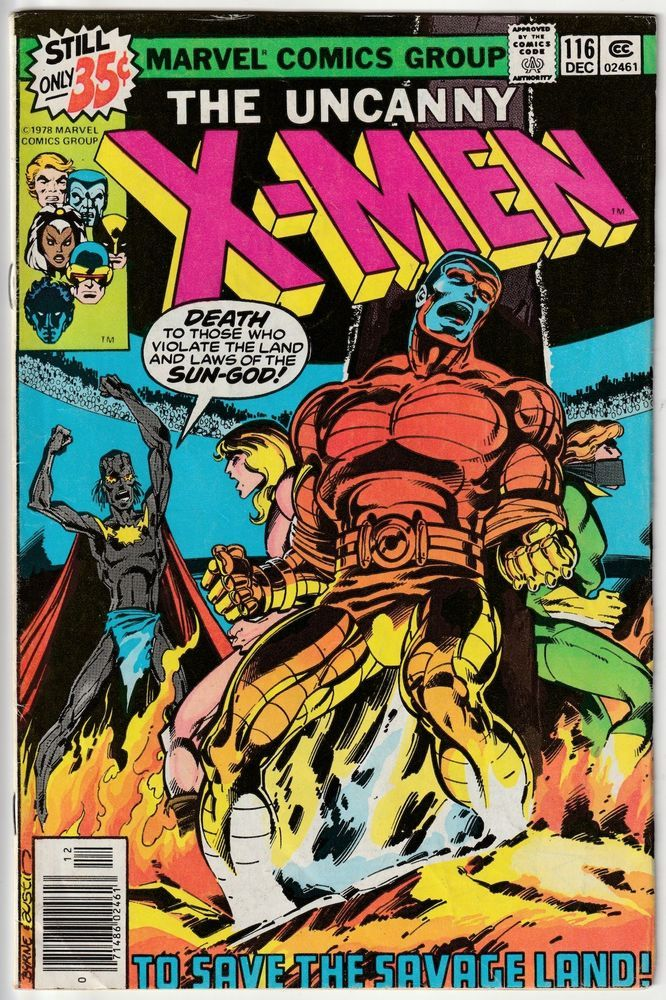 The X Men 116 1st Appearance Of Amahl Farouk Later Becomes Shadow King Comic Covers Marvel Comics Covers Comics