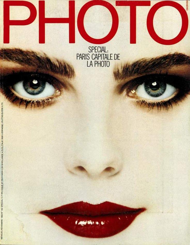 Numéro 182 - Novembre 1982 - Photo.fr Margaux Hemimgway par Francesco Scavullo