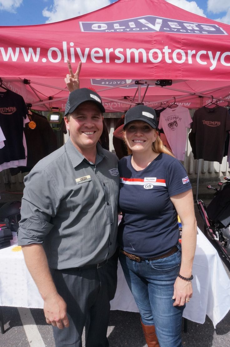 Michael and Kerrie Oliver donated breakfast and profits to prostate research at the Distinguished Gentlemen's Ride in Brisbane. Read all about it: http://motorbikewriter.com/distinguished-gentlemens-ride-success/