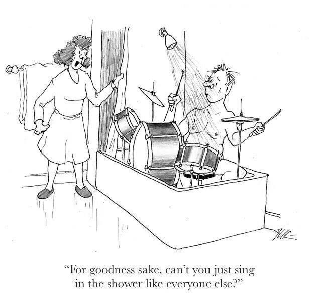 Drummer humor!!