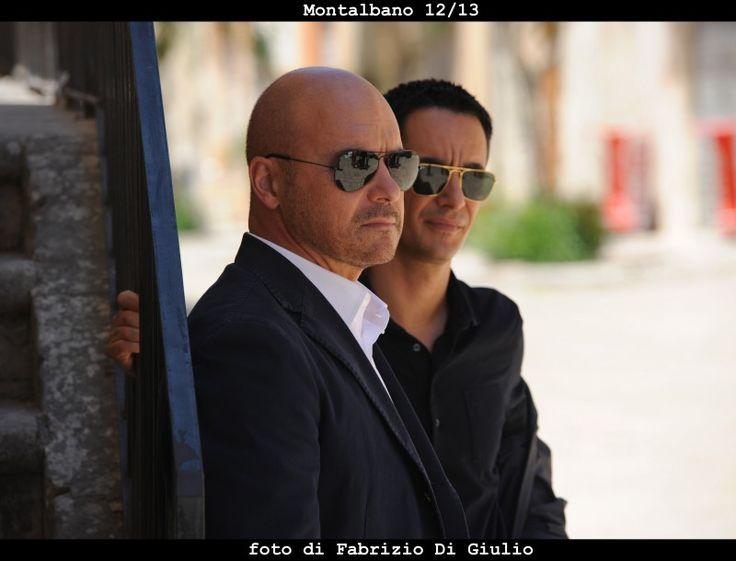 Il commissario Montalbano: Luca Zingaretti e Peppino Mazzotta in una scena