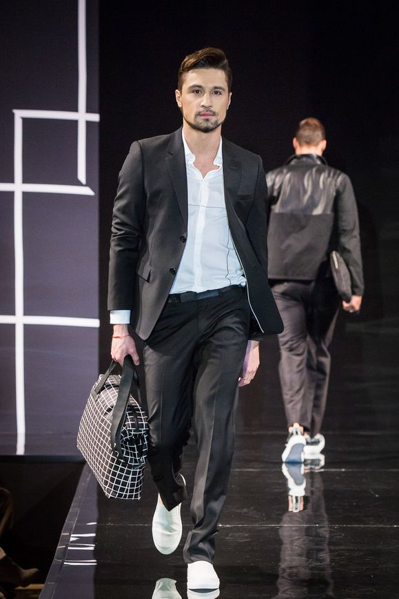 Bosco Fashion Week: Дима Билан и другие на показе Emporio Armani
