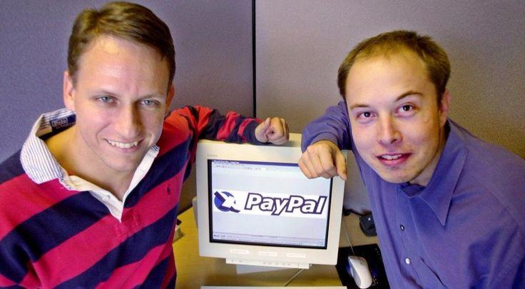 Billionaire entrepreneurs: Elon Musk and Peter Thiel