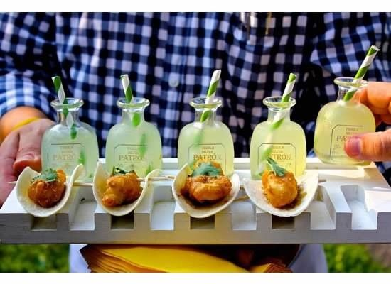 Mini Margaritas + Tacos I Tim LaBant Catering & Events I See more @WeddingWire I #weddingfood