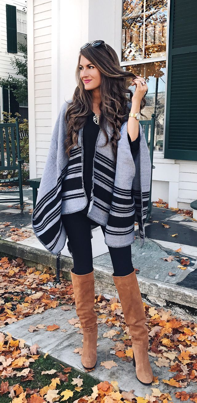 It's the boots AND this sweater/blanket wrap! #ohmybabywrapit https://ladieshighheelshoes.blogspot.com/2016/11/holiday-sale.html
