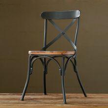 Париж лофт американский в стиле кантри деревянная мебель, Из кованого железа стулья барные стулья столовая(China (Mainland))