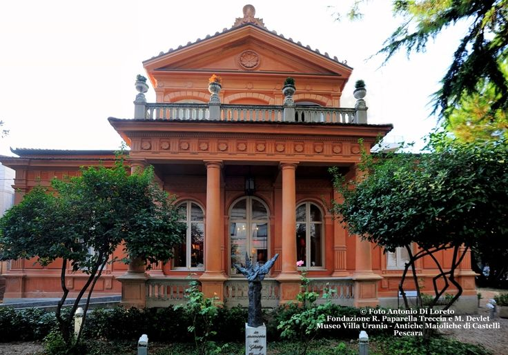 Museo Paparella - Villa Urania - Antiche Maioliche di Castelli nel Pescara, Abruzzo