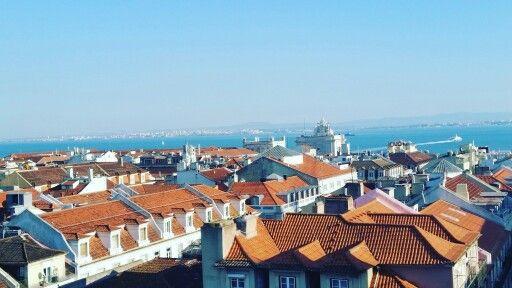 Terracotta rooftops... #Lisbon #Lisboa #Portugal