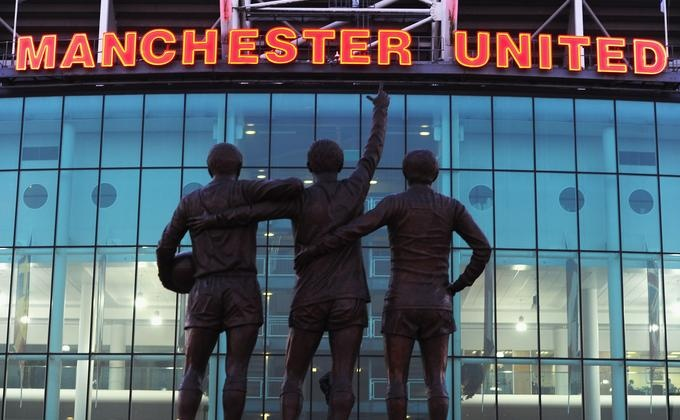 Old Trafford - Front Row Seats to See United beat Sunderland - 2010 Trip