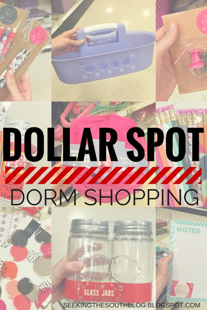 Dollar Spot Dorm Shopping
