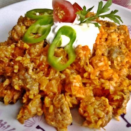 Húsos-rizses káposzta Recept képpel - Mindmegette.hu - Receptek