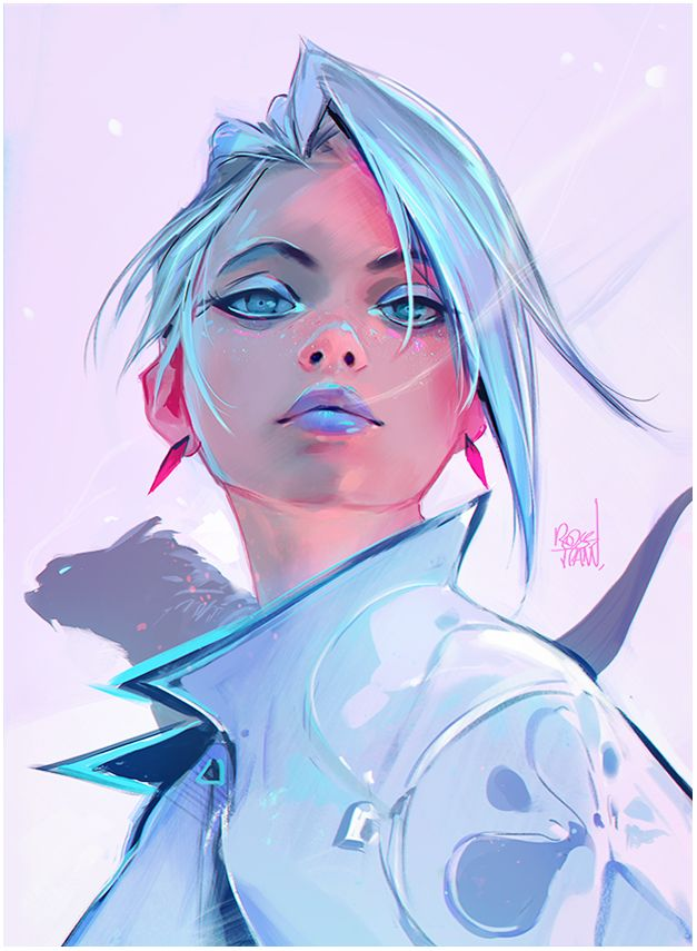 Snow Freckles by rossdraws on DeviantArt