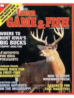 Iowa Game & Fish, 12 issues for 1 year