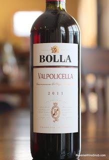 Bolla Valpolicella 2011 - Highly Quaffable. $8 Perfect for pasta night!