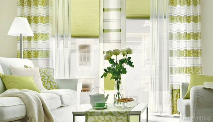 7 best Gardienen images on Pinterest Blinds, Window dressings and