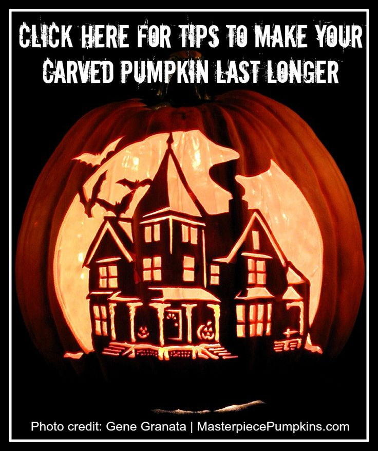 Here are some tips to make your carved pumpkin last longer > http://LiveBetterByDesign.wordpress.com/2013/10/23/how-to-make-your-carved-pumpkin-last-longer-2/