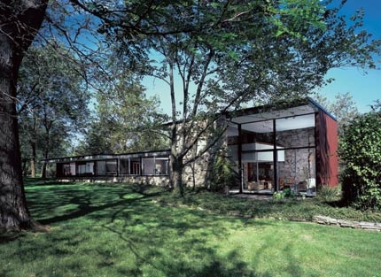 the miller house 1956
