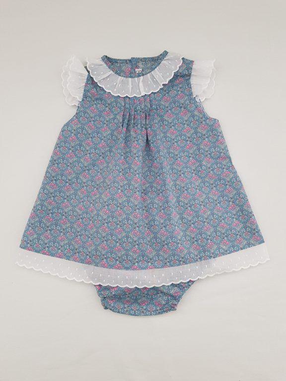618061421 Vestido Susan para bebés hasta 12 meses. | Cositasbe | Vestidos para ...