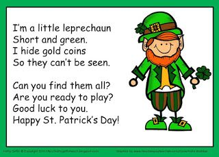 Kathy Griffin's Teaching Strategies: St. Patrick's Day Song and Gold Hunt
