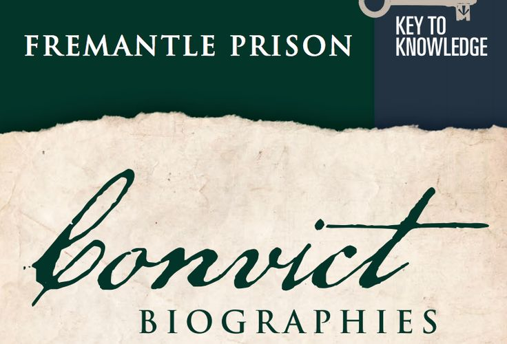 Extension: Stories of Convicts and Guards in Fremantle Prison  http://www.fremantleprison.com.au/schoolgroups/educationalresources/Documents/FP%20Convict%20Biographies.pdf