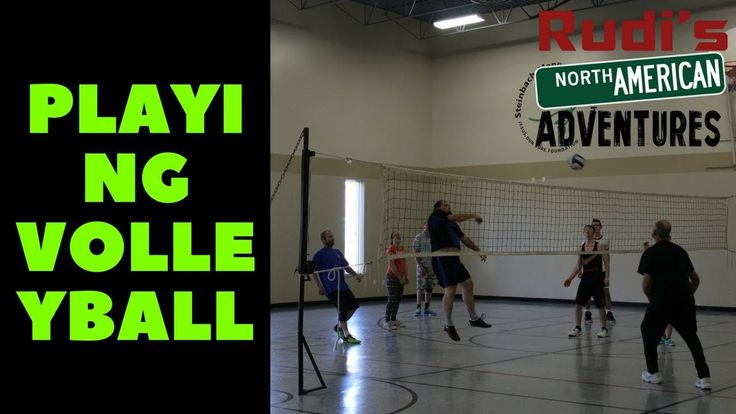 Playing Volleyball Rudi's NORTH AMERICAN ADVENTURES 10/22/17 Vlog#1229 - YouTube