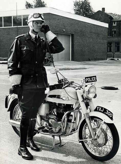 Norton Commando Patrol 1963 by Greater Manchester Police, via Flickr