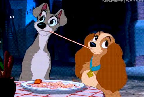 Lady and the Tramp (gif)