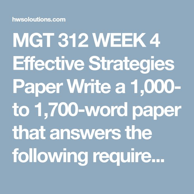 write a 500 to 700 word paper in which you address the following Ultimately, 500 to 700 words is not a huge amount of space in order to discuss a subject and, therefore, you have to be careful with how much therefore, if a typical 500 to 700 words academic paper will consist of four or five paragraphs on average, and you need to use one paragraph each for.