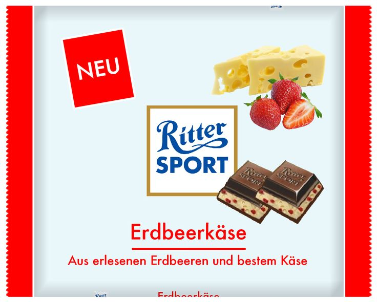 Ritter Sport - Erdbeerkäse