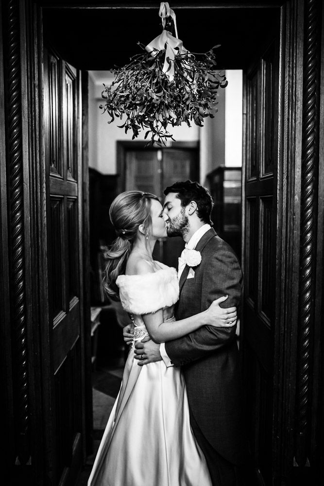 Mistletoe Kiss - Froyle Park Winter Wedding by Stylish Wedding Photography