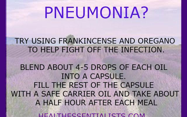 pneumonia | Essential Oils | Pinterest | Aromatherapy ...