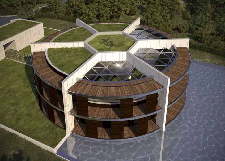 Lionel Messi's house - Taking inspiration from the design of a soccer ball, De Garrido designed the One Zero #EcoHouse as a homage to Messi, keeping in mind the little magician's every interest and lifestyle preference. The Spaniard even studied Messi's physical and emotional needs while designing the luxury mansion...