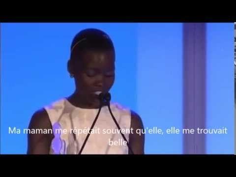 """Le discours poignant de l'actrice de """"12 Years a Slave"""" sur la beauté des femmes noires - Les Inrocks"""