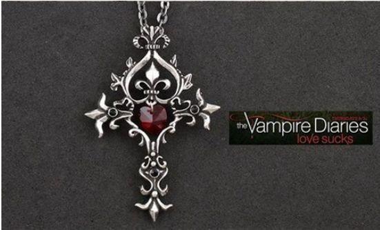 Vampire diaries ♡ at https://www.etsy.com/listing/173685998/vampire-diares-silver-locket-or-cross